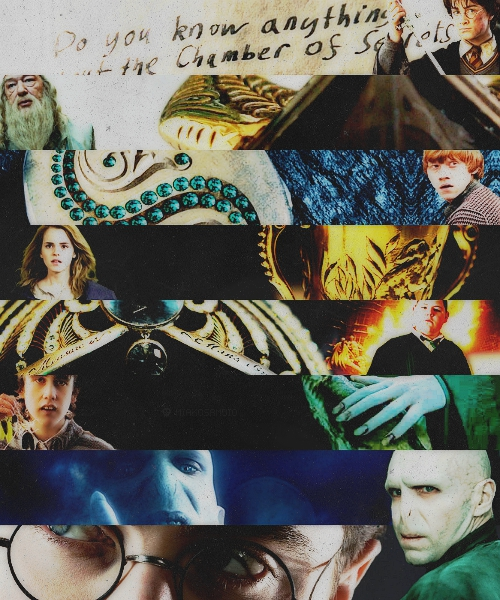 Pieces of Tom Riddle's Soul.